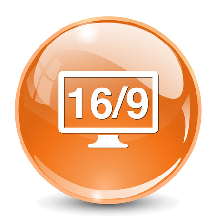 16 9: 16  9 display icon
