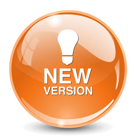 new and improved: New version button