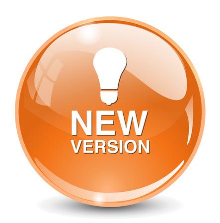 version: New version button