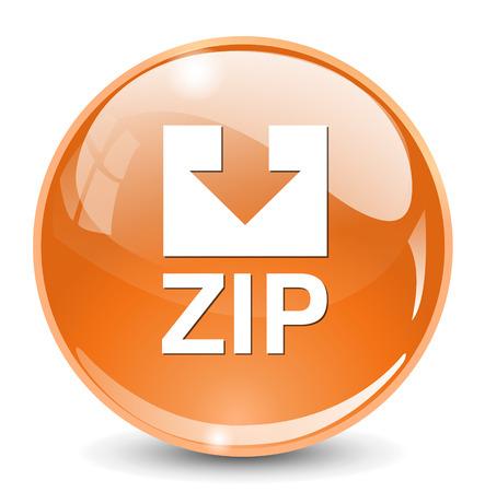 zipped: Zip file icon