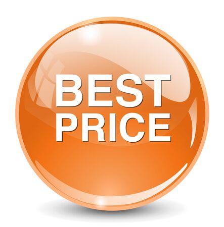 best price icon: best price icon Illustration