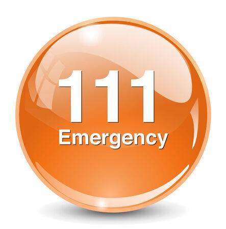 emergency button: emergency button