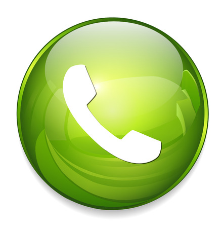 phone button: telefoon knop
