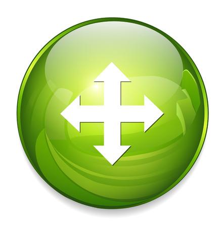 ziel icon: Zielsymbol Illustration