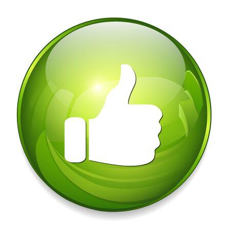 thumb up icon: thumb up icon