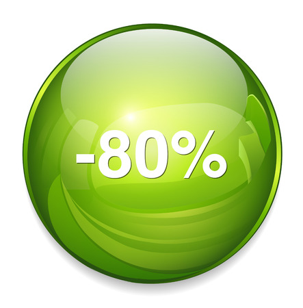 80: 80 percent off button