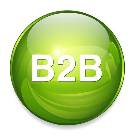 b2c: b2b icon