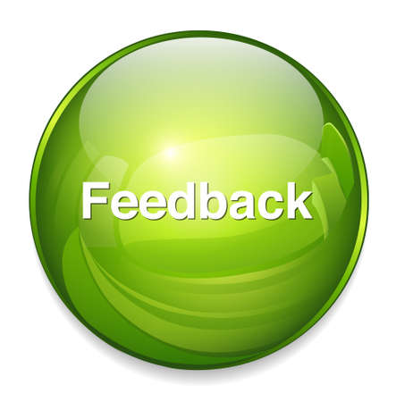 feedback label: feedback button