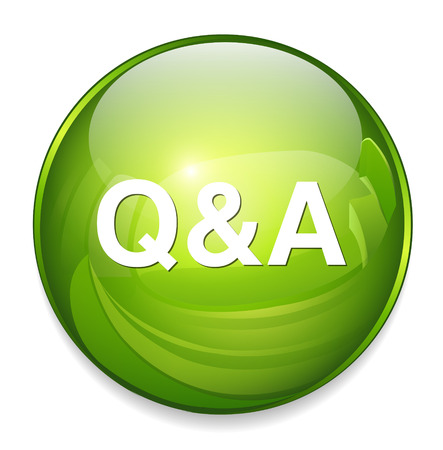 question and answer: question answer icon