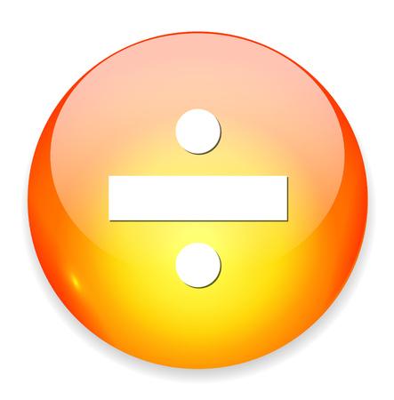 addition: dividing icon