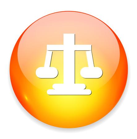 justice scales: justicia escalas icono