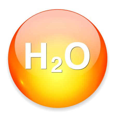 h2o: H2O icon Illustration