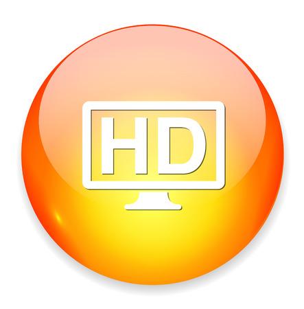 hd: hd display icon