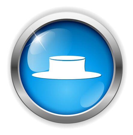 hard cap: Hat icon Illustration