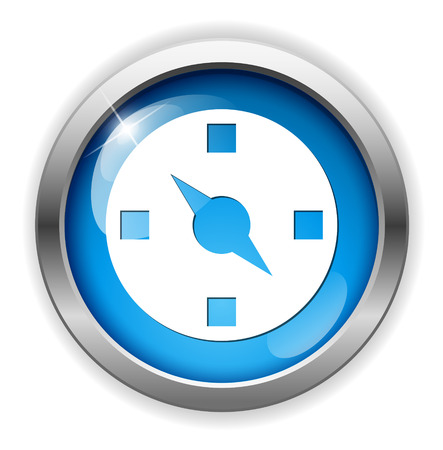 directions icon: Compass directions icon