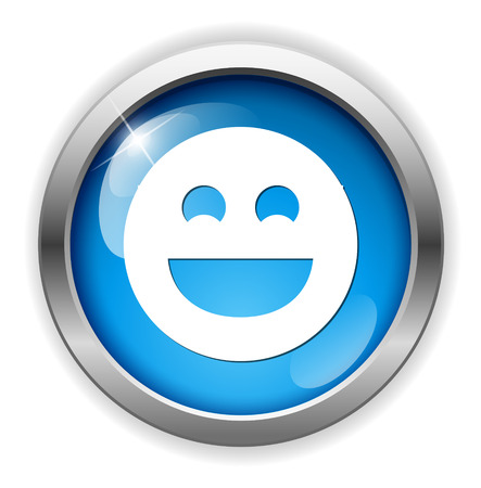 smiley face cartoon: icono de cara sonriente