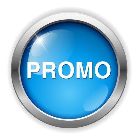 promo: promo button Illustration
