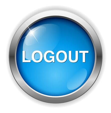 log off: logout button