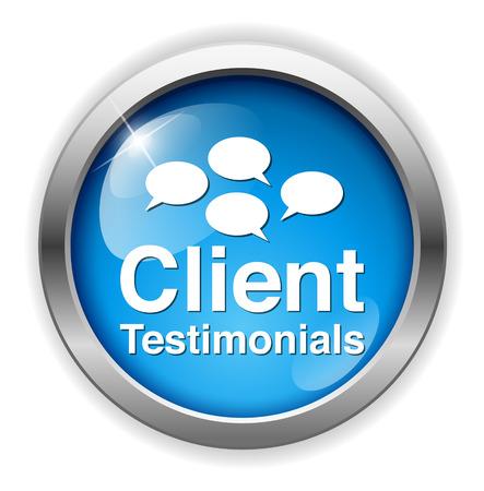 testimonial: Client testimonials button