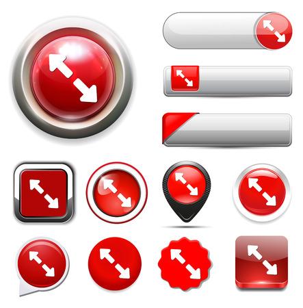 boton flecha: Bot�n de flecha