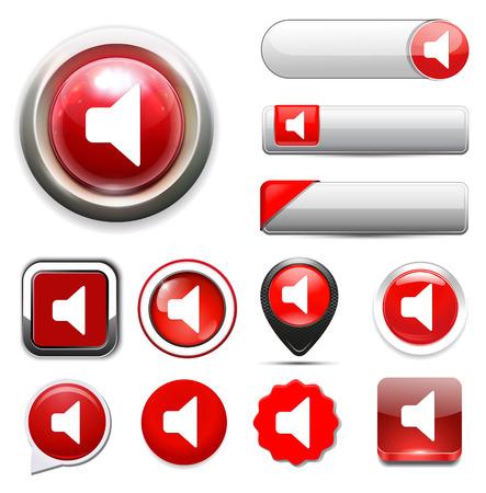 mute: speaker mute Button