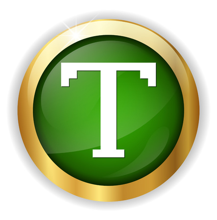 Text edit sign icon Illustration