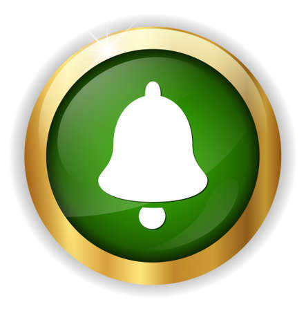 door bell: Bell  icon Illustration