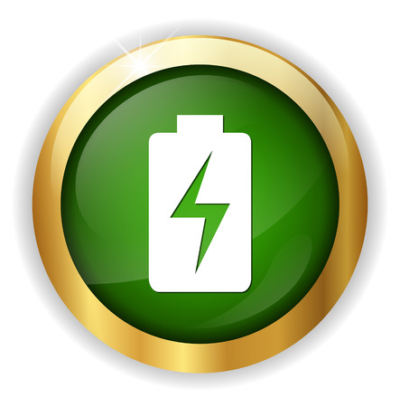 charging: Battery  charging icons Illustration