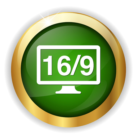 16 9: 16  9 display icon