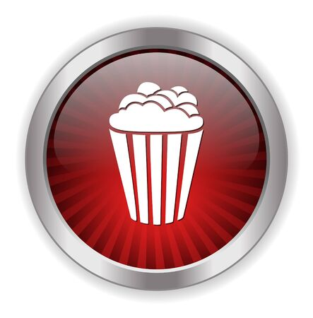popcorn icon Illustration