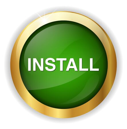 install: install button