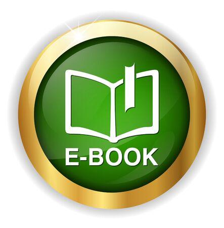e reading: Ebook icon button