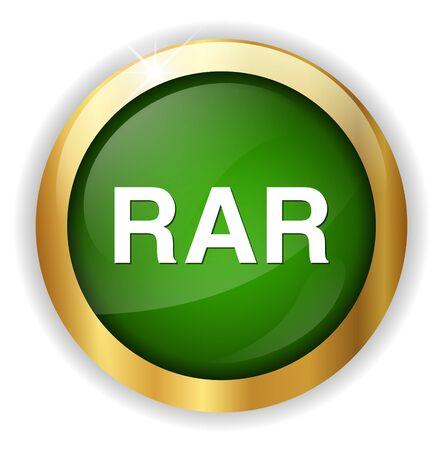 zipped: Rar file icon