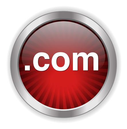 dot com: dot com  button