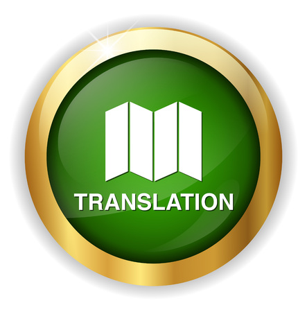 Translate button Vector