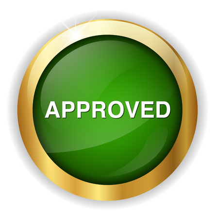approved button: approved  button