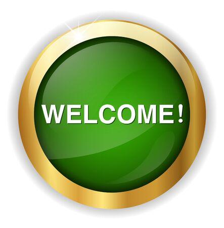 come: Welcome button