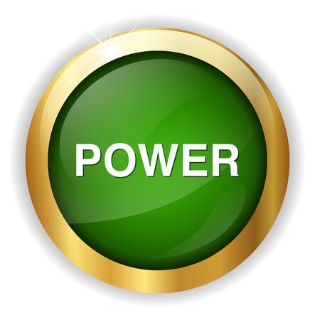 start button: power icon