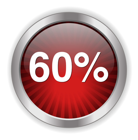 60: 60 por cento �cone