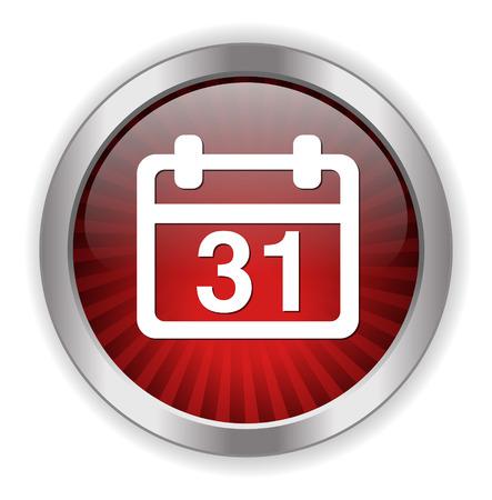 31 calendar icon Vector