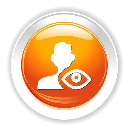 contact lens: eye icon