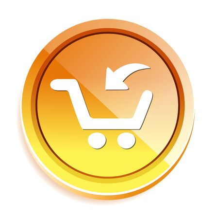 add button: add to cart button, buy now icon Illustration