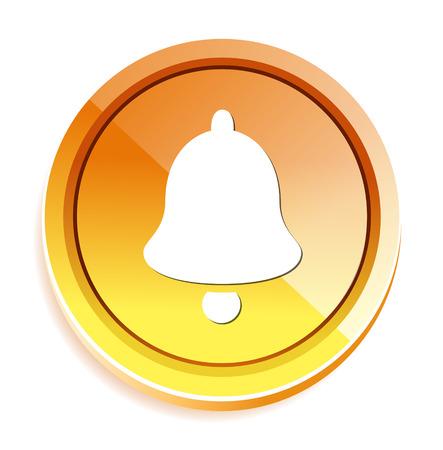 door bell: Bell  icon Illustration
