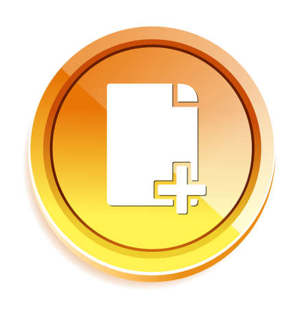 copy: copy document icon Illustration