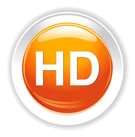 hd icon or button Illustration