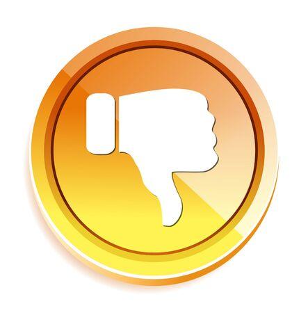 negativity: Dislike (thumbs down icon)