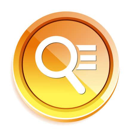 scrutinize: magnifying button