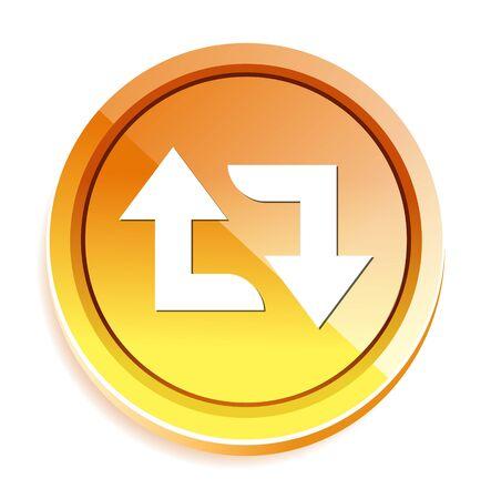 refresh: arrow sign reload refresh rotation Illustration