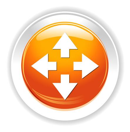 Four arrows icon
