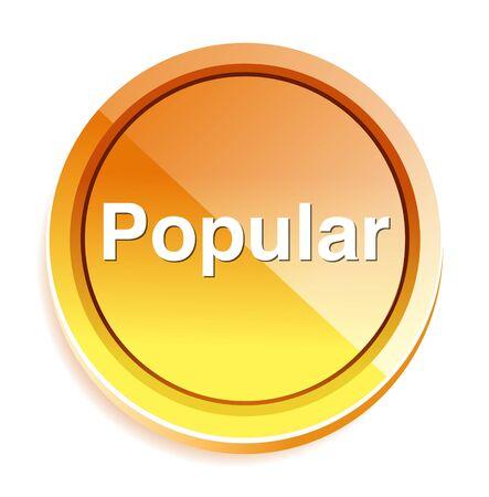 popularity popular: popular  word button